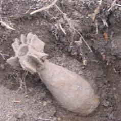 Под мостом у автовокзала в Смоленске рыбаки нашли минометную мину
