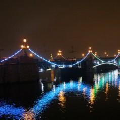 К майским праздникам в Смоленске засияют два моста