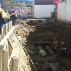 На четырех улицах Смоленска нет воды и тепла