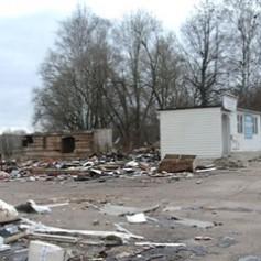 В Смоленске на месте бывшего авторынка возникла стихийная свалка