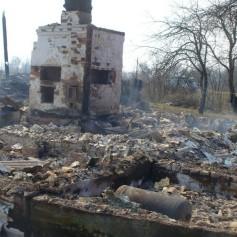 В выходные дни в Смоленской области на пожарах погибли 11 человек