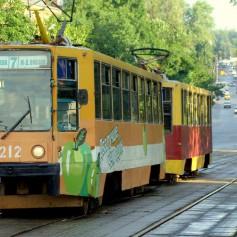 В Смоленске до 30 апреля трамваи перестанут ходить на Киселевку