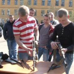 В Смоленске прошёл всероссийский день призывника