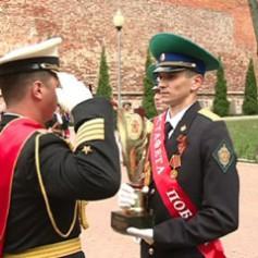 Смоленск принял международную эстафету пограничников