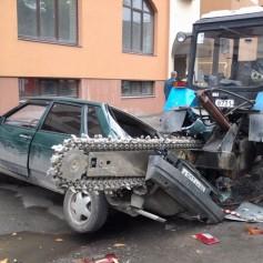 Полиция Смоленска займется любителями бросать авто где попало