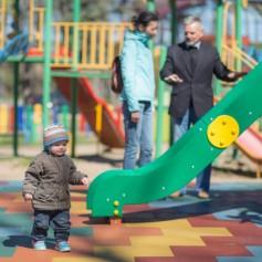 В городском парке Смоленска открыли новый игровой комплекс