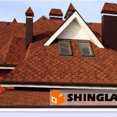 Преимущества черепицы Shinglas