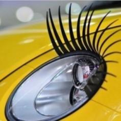 Как подкрасить «глазки» у авто
