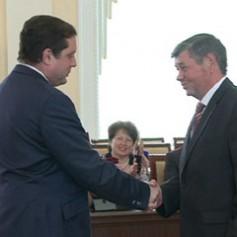 В администрации Смоленской области состоялась торжественная церемония вручения государственных наград