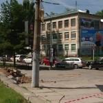 Новая парковка в центре Смоленска деревьям не угрожает