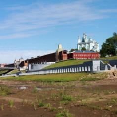 В Смоленске появился «Владимирский остров»