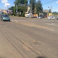 «Смоленскавтодор» положил новый асфальт на перекрестке улиц Николаева и Марины Расковой