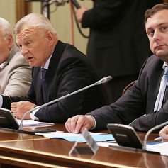 Алексей Островский принял участие в совещании у премьер-министра Дмитрия Медведева