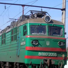 Грузовой поезд загорелся в Смоленской области