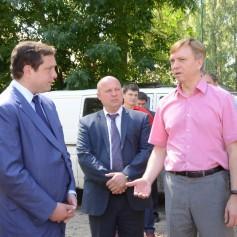 Алексей Островский совершил инспекционнцю поездку по Смоленску