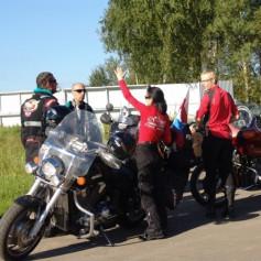 Польские байкеры приехали в Смоленск