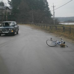 В центре Смоленска сбит 10–летний велосипедист