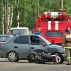 В ДТП под Смоленском пострадал человек