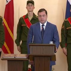 Алексей Островский официально вступил в должность губернатора Смоленской области
