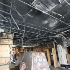 Магазин «Кругозор» давно находился под угрозой пожара
