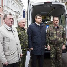 Гуманитарная помощь для детей Донецкой области отправлена из Смоленска