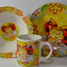 Важные особенности набора тарелок из керамики