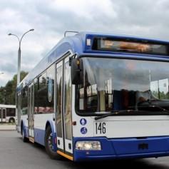 В Смоленске запустили бесконтактный троллейбус