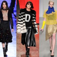 Платья и юбки нового сезона осень-зима