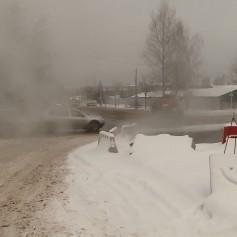 В Смоленске устраняют аварию на тепломагистрали ТЭЦ-2