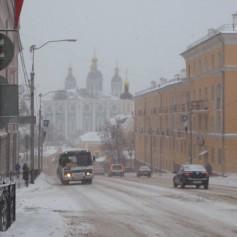 Отменен запрет на въезд грузовиков в Смоленск