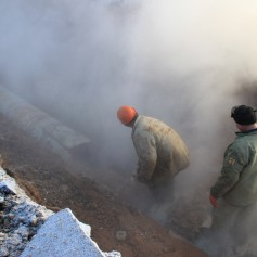 Для отключенных от тепла смолян cделали пункт обогрева