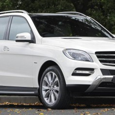 Mercedes-Benz ML350 – комфорт и статус