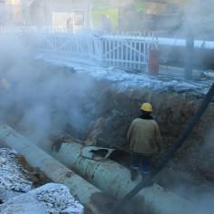 В Смоленске вновь авария на теплосети