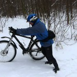 Велотуризм зимой