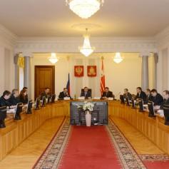 В Смоленске прошло заседание региональной Антитеррористической комиссии