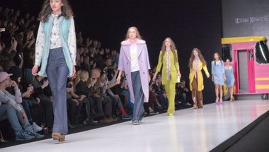 Шестилетняя модель из Смоленска участвует в Неделе моды в Москве