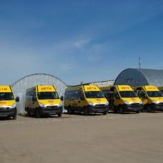Низкопольный автобус выйдет на маршрут № 50 в Смоленске