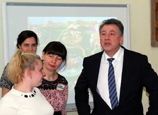 В Смоленске побывал заместитель министра образования и науки