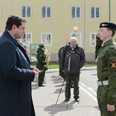В Смоленске прошла акция «День призывника»