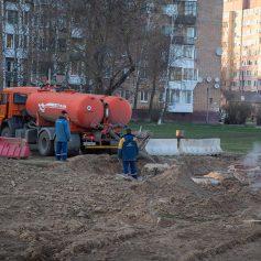 Аварию в Заднепровском районе Смоленска устранят к концу дня