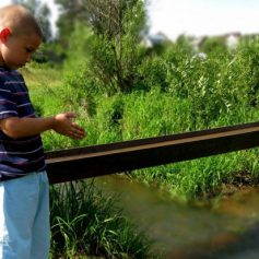 В Гнездове второклассник спас чуть не утонувшего в реке Ольшанке малыша