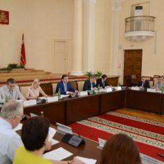В областной администрации обсудили благоустройство смоленских муниципалитетов