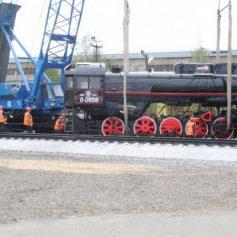 В Смоленской области в Рославле на месте паровоза-«кукушки» установили паровоз-«лебедь»