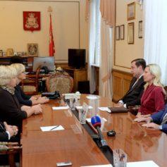 Губернатор Смоленской области обсудил с Послом Латвийской Республики перспективы сотрудничества