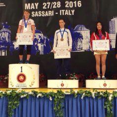 Смоленская студентка-вольница стала серебряным призером первенства мира среди юниоров