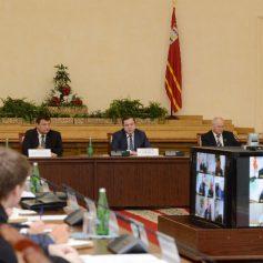 Губернатор принял участие в заседании Общественной палаты Смоленской области