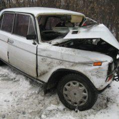"""В Починковском районе в страшной аварии погибла водитель """"шестерки"""""""