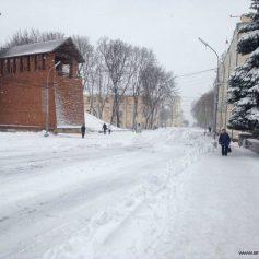 В Смоленске погода шепчет о метели