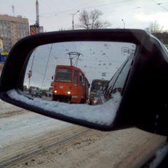 Сегодня запущено движение трамваев на Пятницком путепроводе