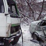 В Починковском районе легковушка влетела в КамАЗ